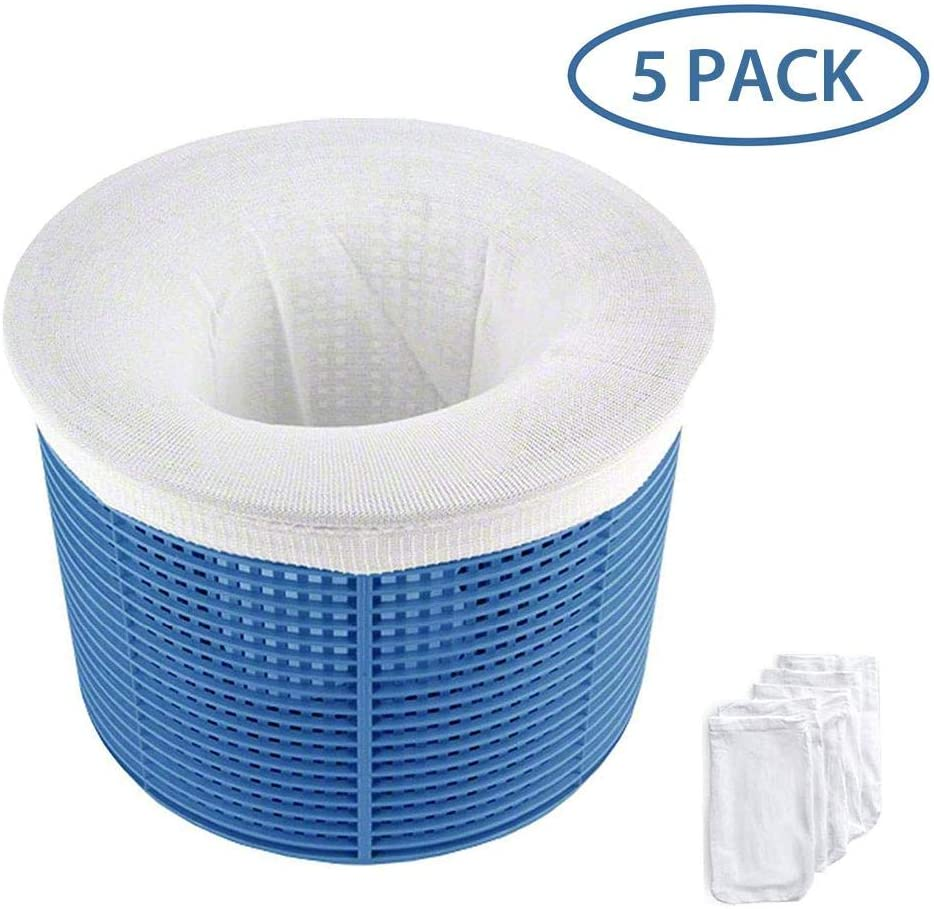 settencas Swimming Pool Filter Bag Swimming Pool Filter Basket Skimmer Swimming Pool Debris Cleaner
