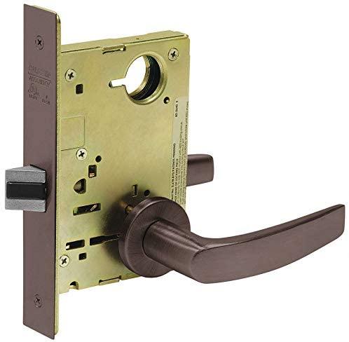 Heavy Duty Mortise Lockset, Mechanical, Not Keyed, Mortise, Healthcare, Institutional
