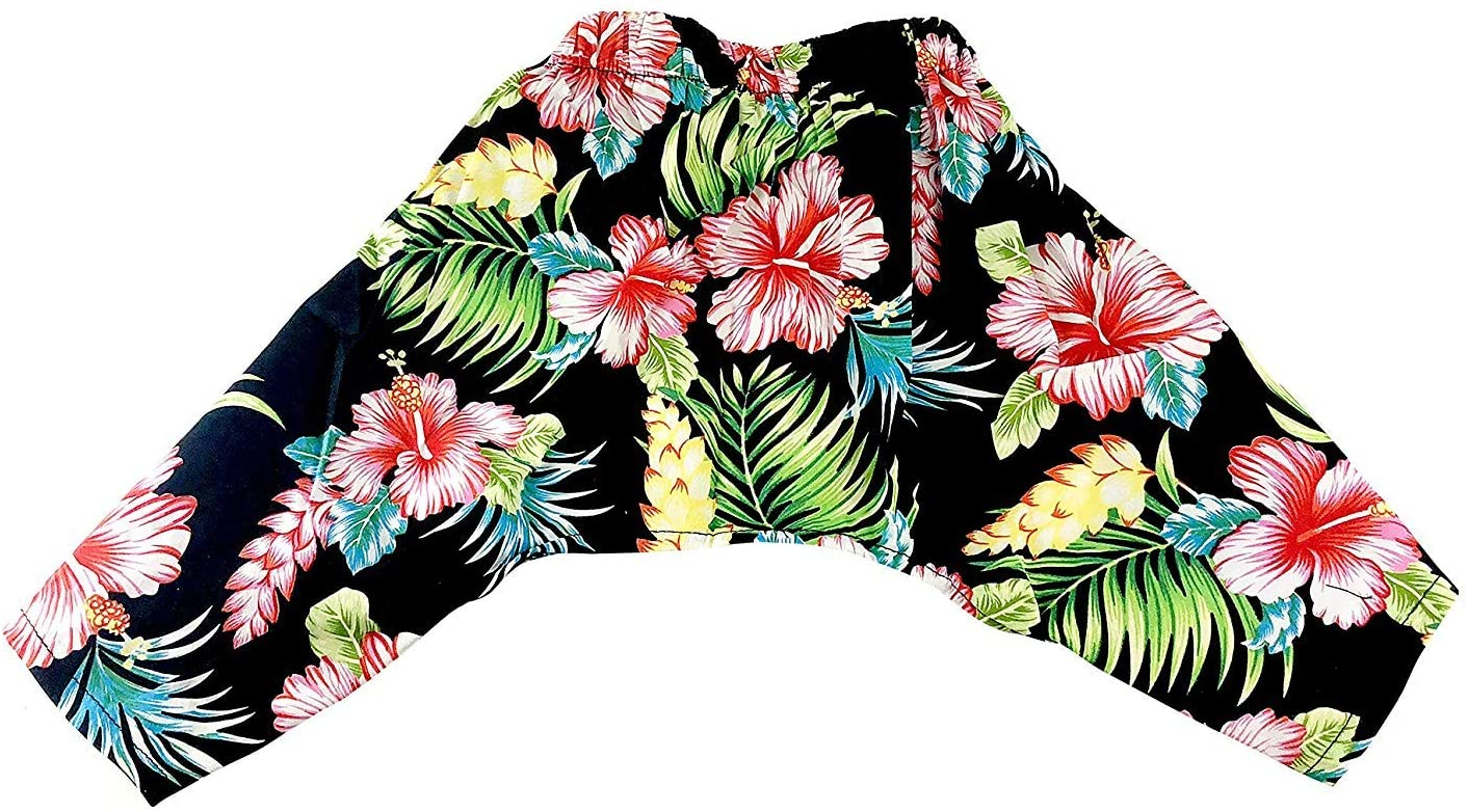 Midlee Hawaiian Dog Swim Trunks