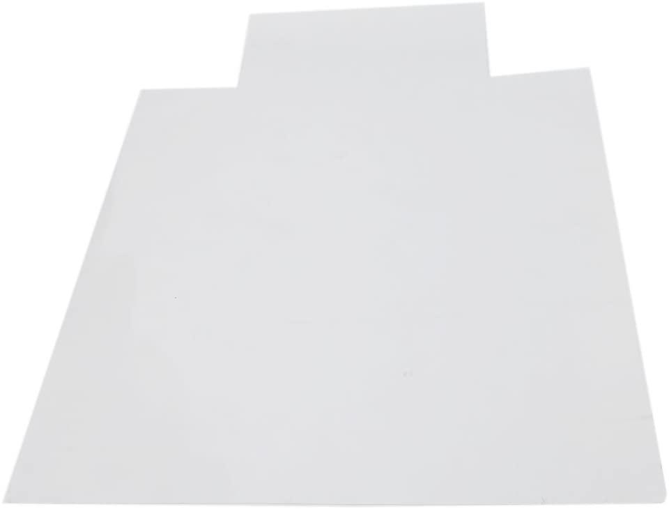 Noomer Carpet Chair Mats, 90x120x0.22CM Chair Mat with Lip for Carpet, PVC Matte Home-use Protective Mat for Floor Chair Transparent Mats