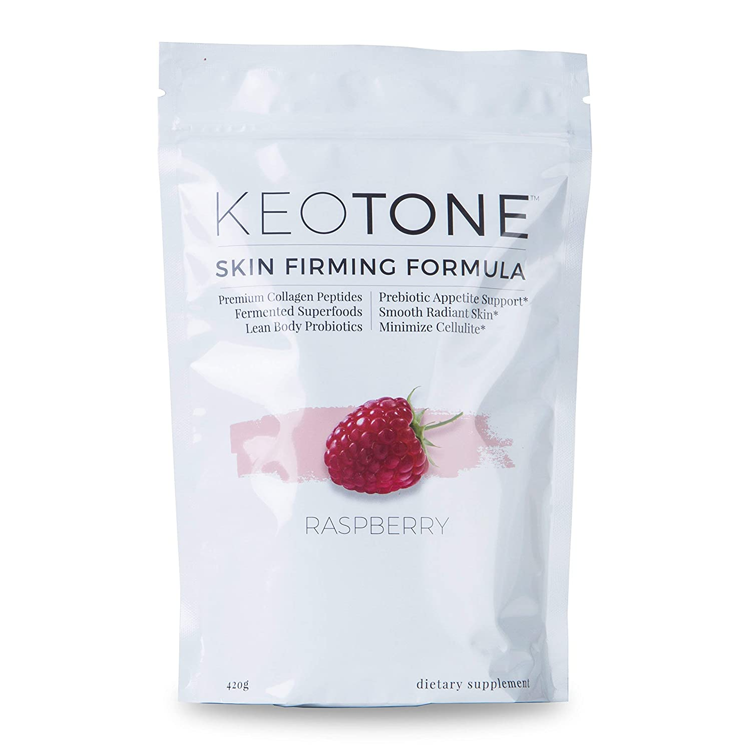 KEOTONE - Probiotic Appetite Support with Beauty Formula (Raspberry)