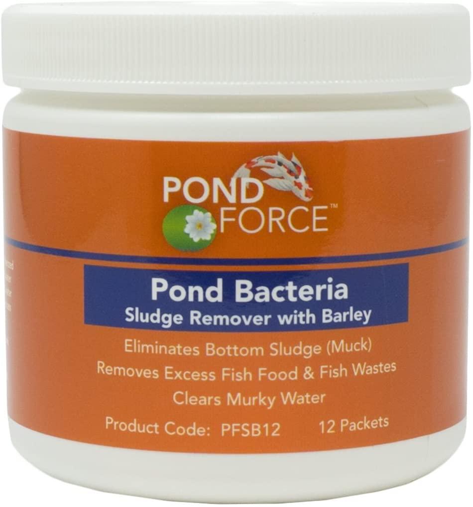 Pond Force Pond Bacteria Sludge Remover with Barley