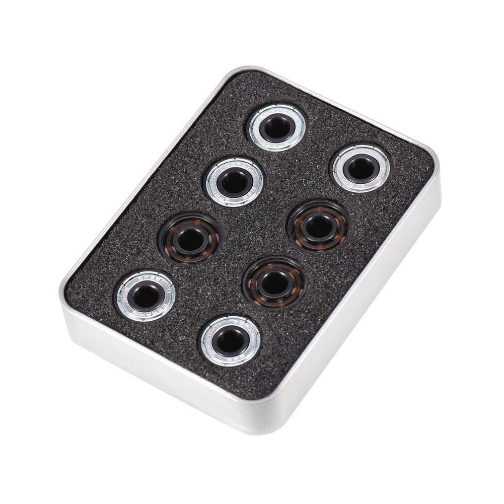 Ball Bearing, 608 Bearing, Miniature Bearing, Steel Single-Side Shield Ceramic Balls for Inline Roller Skate
