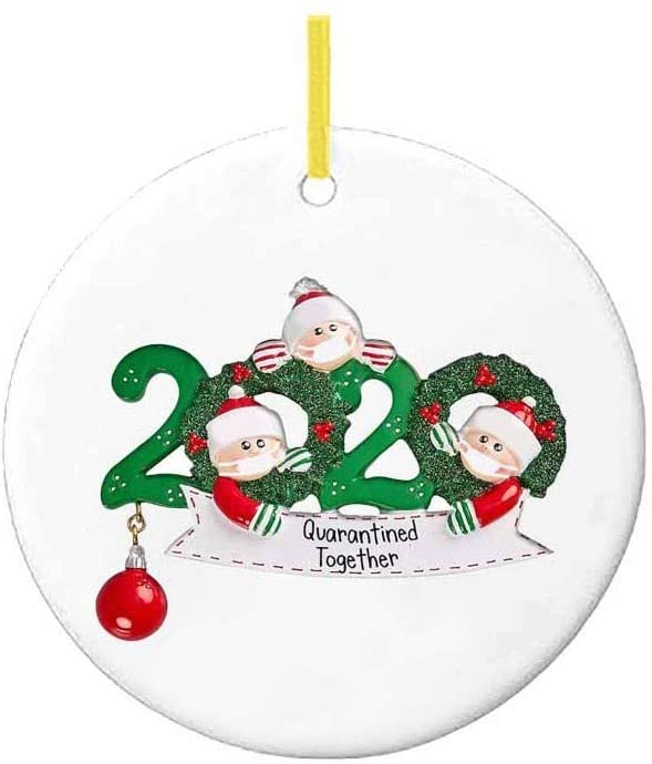 zxcvb 1PCS 2020 New Christmas Tree Decoration, Lighted Pendant Faceless Old Man Plastic Pendant, Christmas Ornaments Personalized Family of Ornament