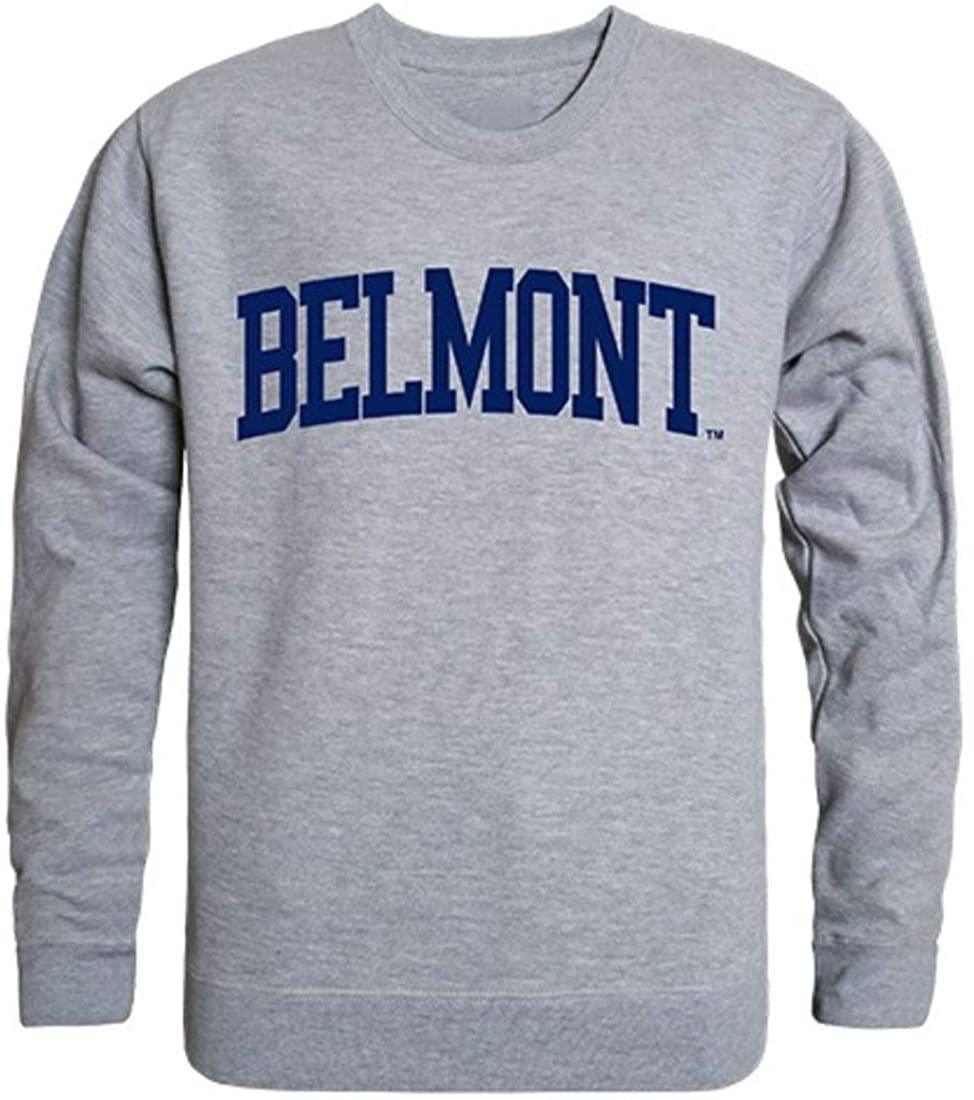 Belmont State University Game Day Crewneck Pullover Sweatshirt Sweater