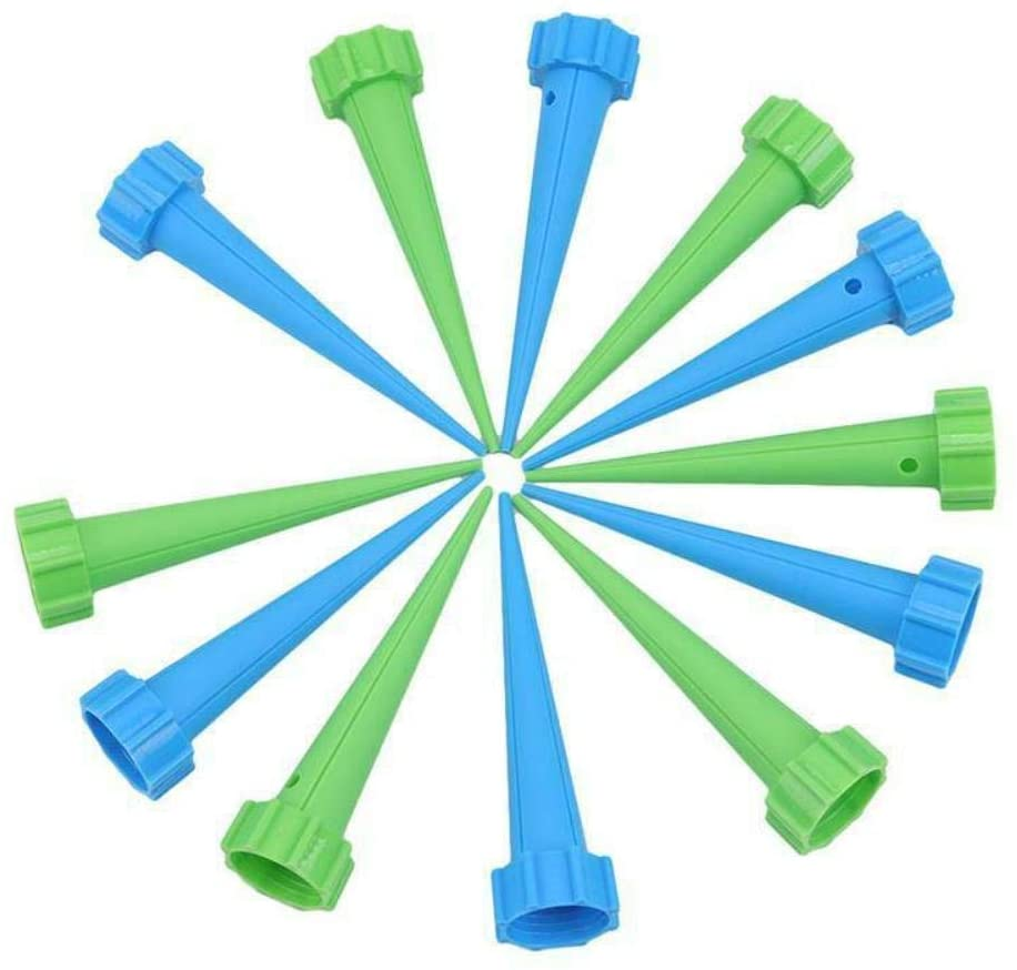 Daana Grant Plant Self Watering Spikes, Plant Waterer Self Watering Spikes Devices Slow Release Control Accessories,Mixed Color