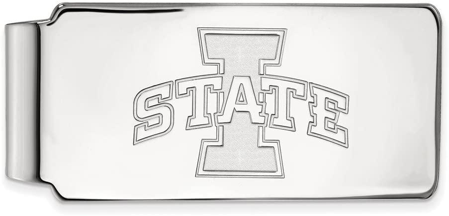 Iowa State Money Clip (Sterling Silver)