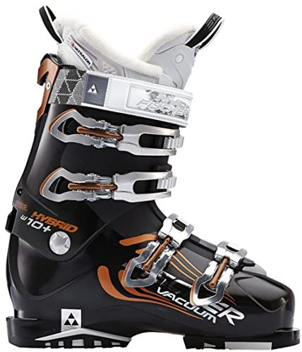 Fischer 2015 Hybrid 10 Vacuum Women's Ski Boots 23.5