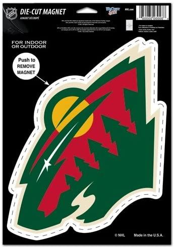 WinCraft NHL Die Cut Logo Magnet
