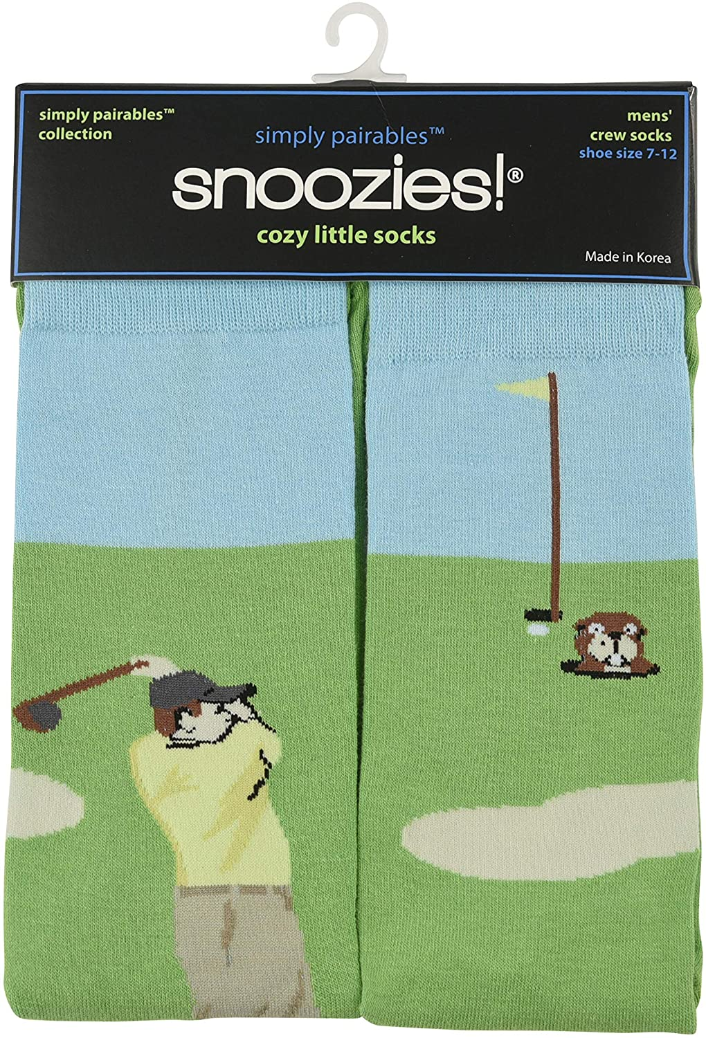 Snoozies Mens Simply Pairables Splitz Collection Novelty Dress Socks