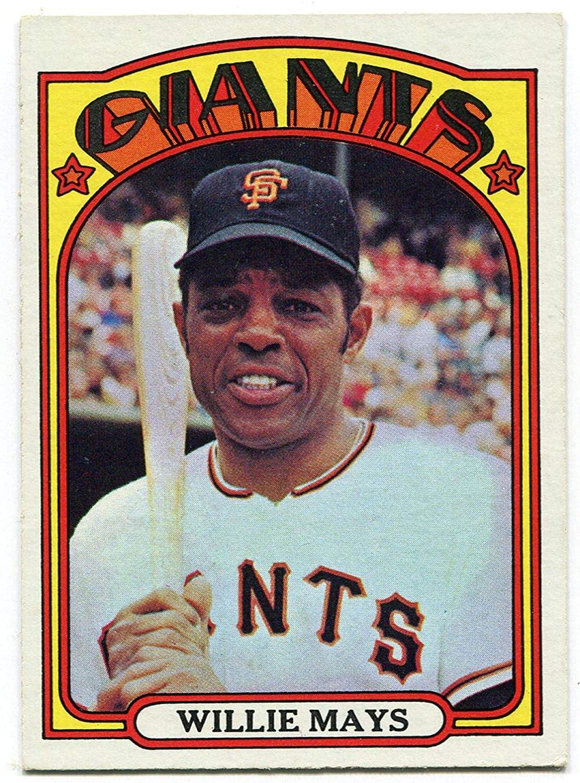 Willie Mays 1972 Topps Card #49 - Slabbed Baseball Cards