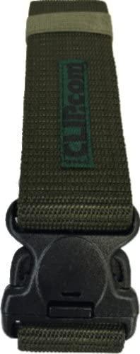Adjustable Tactical Belt, Survival Tactical, EMT, Security, Police Duty Utility Belt (Green)