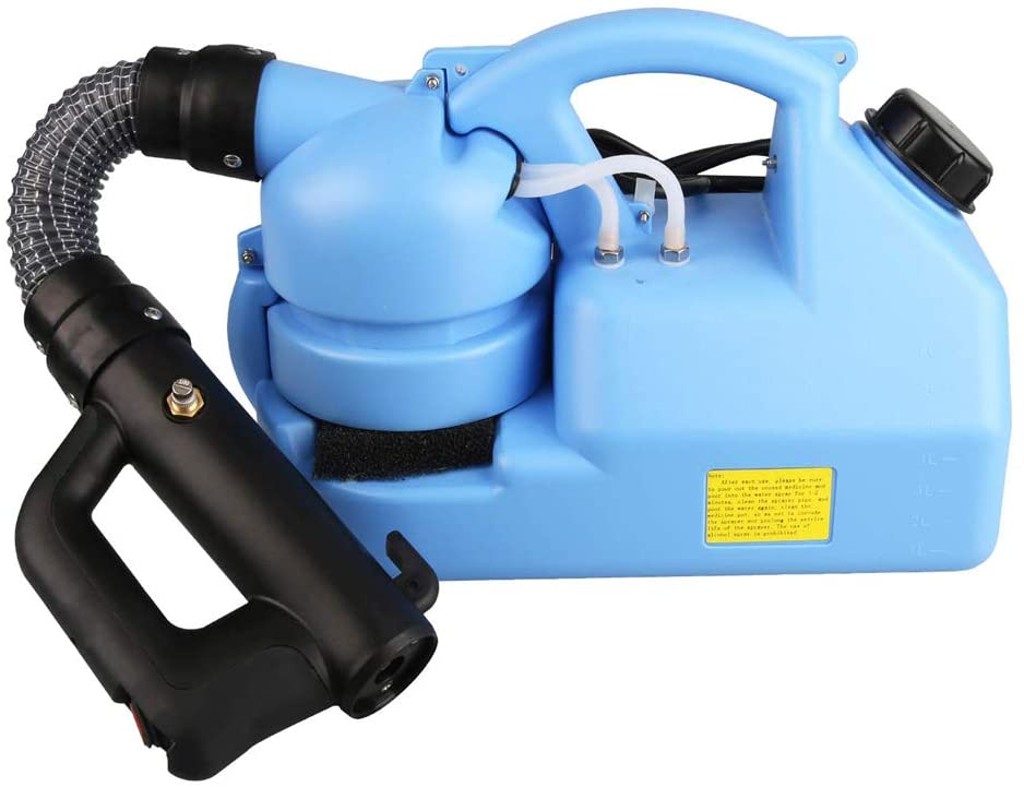 Newbyinn Electric ULV Fogger - Portable Ultra-Low Atomizer Disinfection Sprayer, 1.85 US Gal, 110V/60HZ (1Pcs)