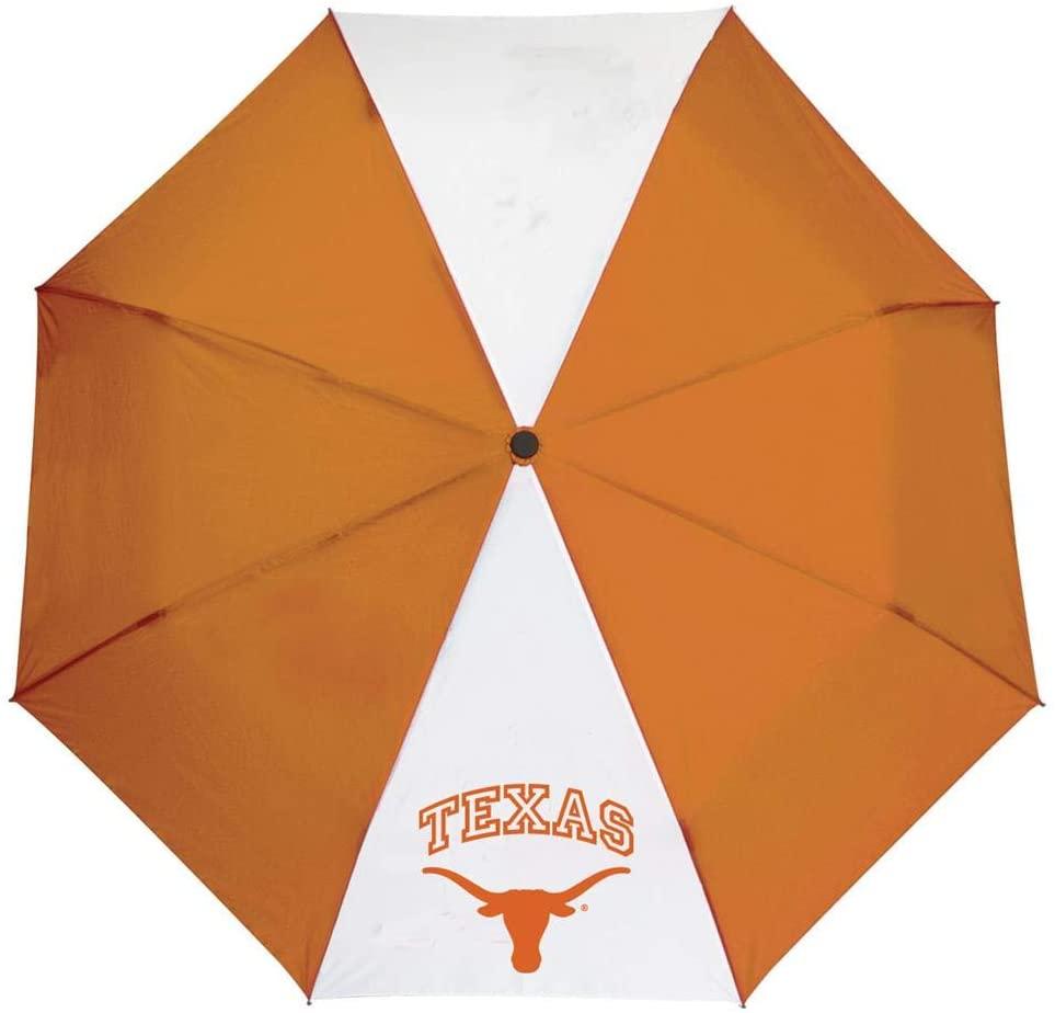Storm Duds University of Texas Longhorns Umbrella Auto Open 42 Folding Umbrella