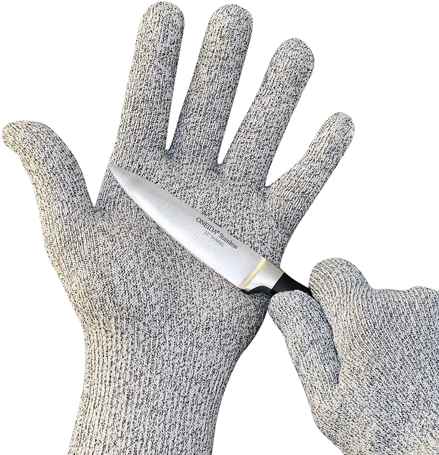 NYOrtho Cut Resistant Gloves - Food Grade, High Performance Level 5 Protection Extra Large (1 Pair of 2 Gloves)