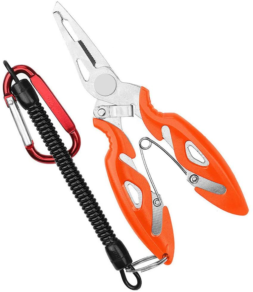 Multifunction Fishing Clip Scissors Line Cutter Hook Remover Tools Outdoor&Sport Fishing