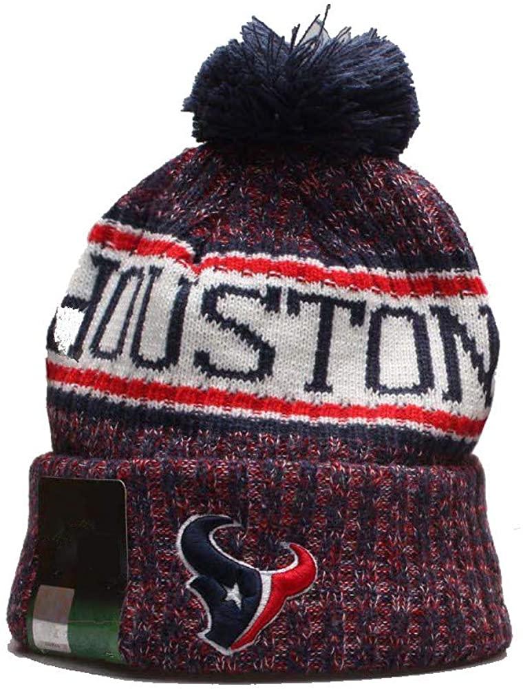 pooxun 2019 New Fans Beanie hat Team Logo Sport Knit Winter Hat Various Styles Designed, Men or Women