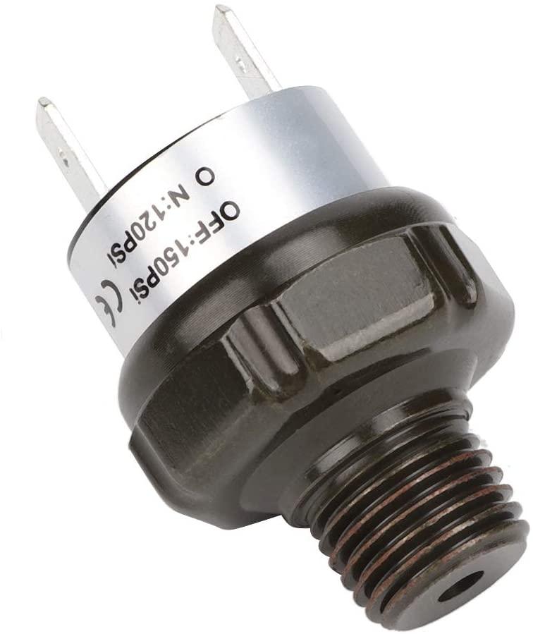 Air Compressor Switch,Car Automatic Air Compressor Switch Air Pressure Control Switch NPT1/4 120-150PSI