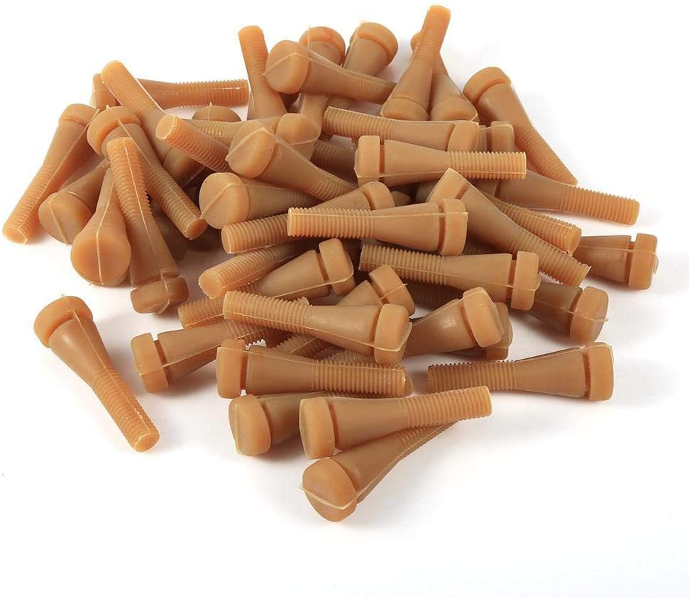 Delaman Chicken Plucker Fingers, Quick Easy 50Pcs/Set Chicken Plucker Fingers Poultry Duck Quail Goose Feather Plucking Agricultural Accessories