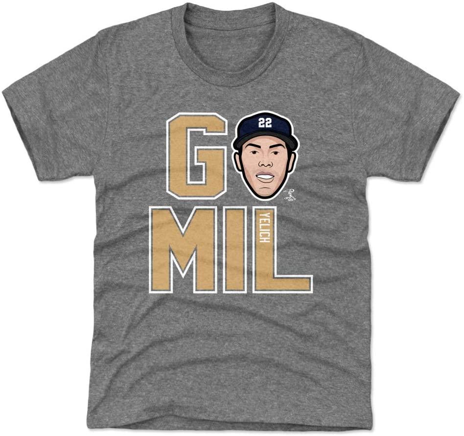 500 LEVEL Christian Yelich Milwaukee Baseball Kids Shirt - Christian Yelich GO MIL