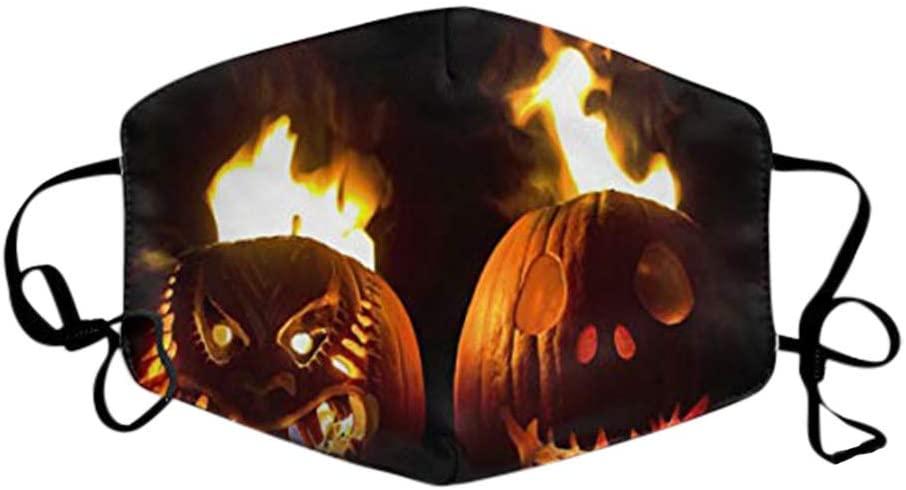 ShaggyDogz Adults Halloween Funny Reuseable Washable Breathable Face Bandanas Man Woman Cloth Protective Outdoors Party
