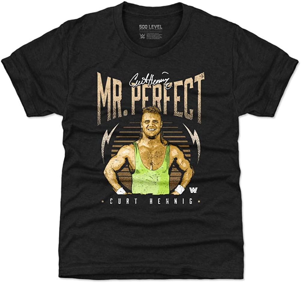 500 LEVEL Mr. Perfect Kids Shirt - WWE Boys Clothes - Mr. Perfect Retro
