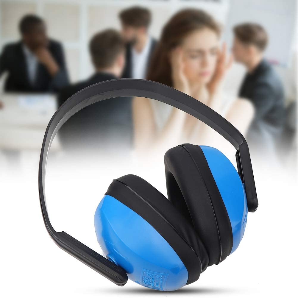 Head-Mounted Ear Defenders, Noise Reduction Earmuffs, Impact Resistant Earmuffs, Hard Hat Earmuffs for Hearing Protection, Soundproof Earmuffs for Factory Construction Sites, Yard Work