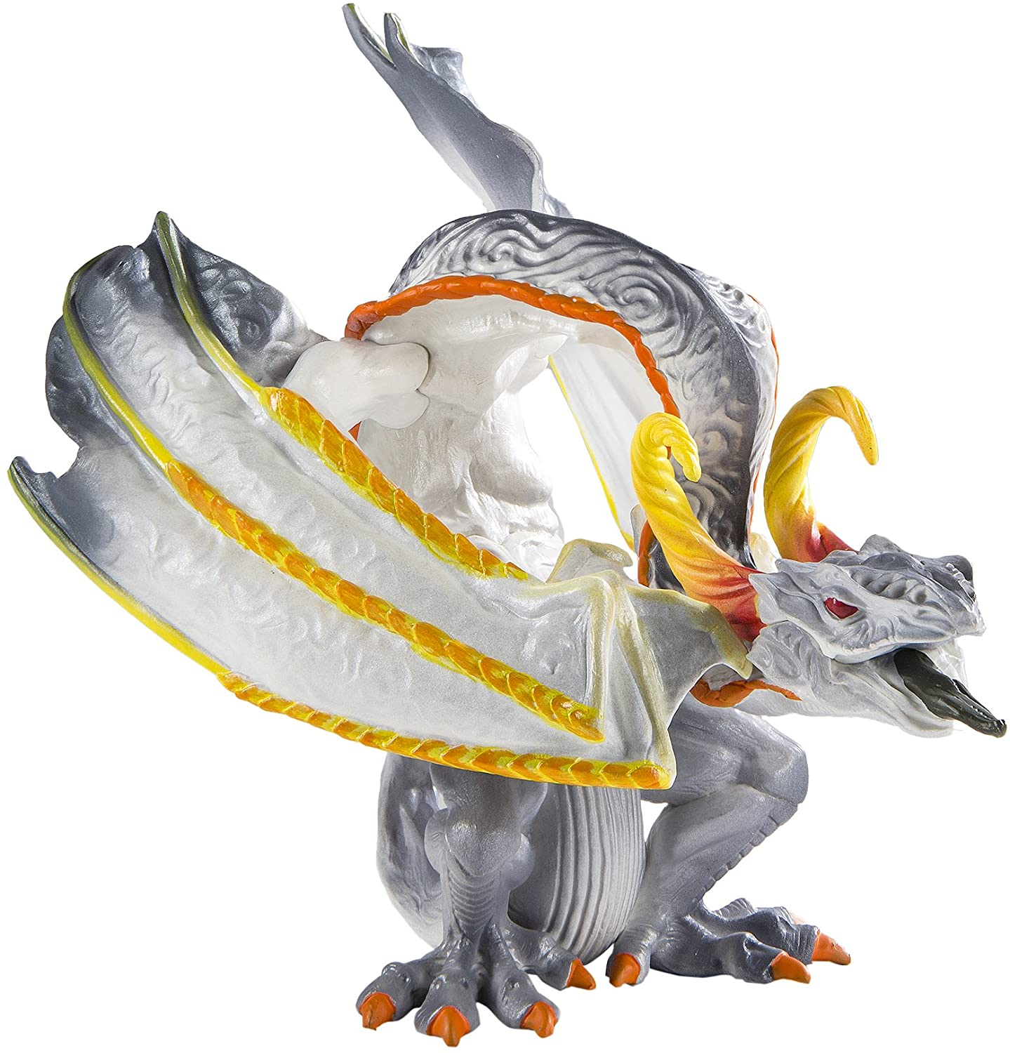 Safari Ltd - Smoke Dragon - Realistic Hand Painted Toy Figurine Model - Quality Construction from Safe and BPA Free Materials - for Ages 3 and Up