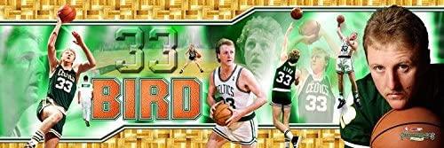 SportPicturesOnline NBA Basketball Larry Bird Boston Celtics Photoramic Photo #3007