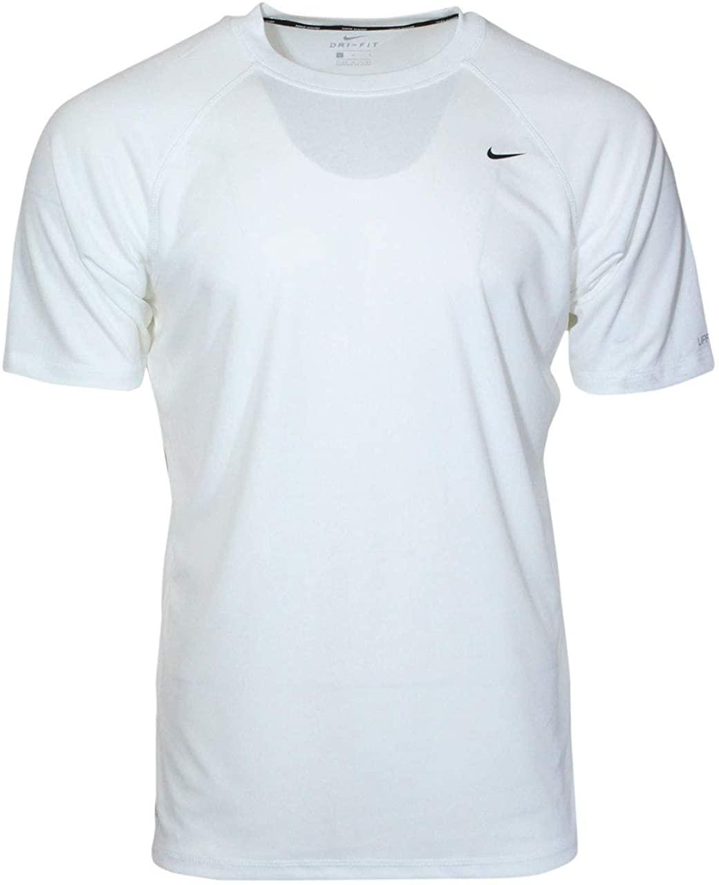 Nike Hydroguard Rash Guard Shirt Mens Dri-FIT Swimwear