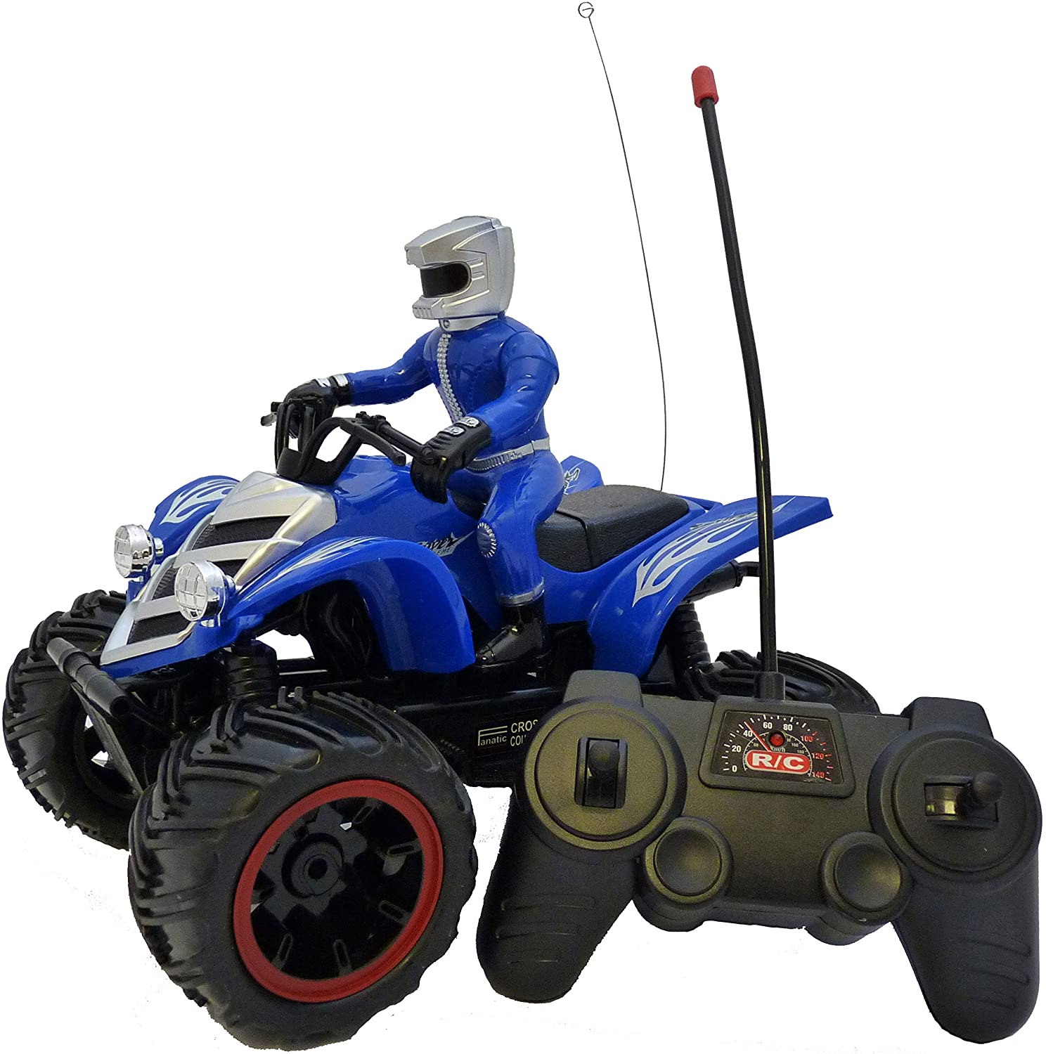 Remote Control Quad Bike TG635 – Super Fun Speed Master Remote Control Toy Quad Bike - Fun Gift for Boys Aged 6 7 8 9 10+ by ThinkGizmos (Trademark Protected)