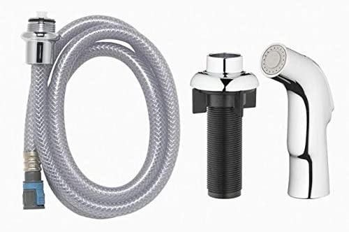 Metallic Chrome Spray Head and Hose Kit Coastal Kitchen Faucets