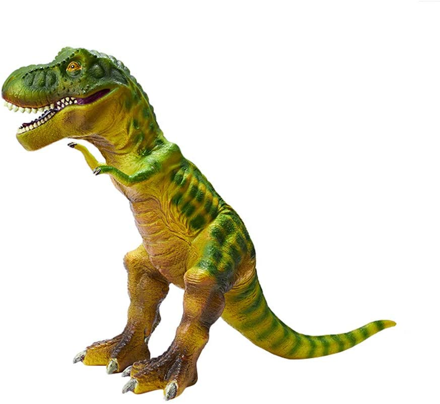 RECUR Large Tyrannosaurus Rex Dinosaur Toy Big Size T-Rex Figures Toddler Boy Plastic Model 22.8inch, Colossal Collectibles or Creative Gifts for All Year Old Boys Toys Kids Toy (Light Green)