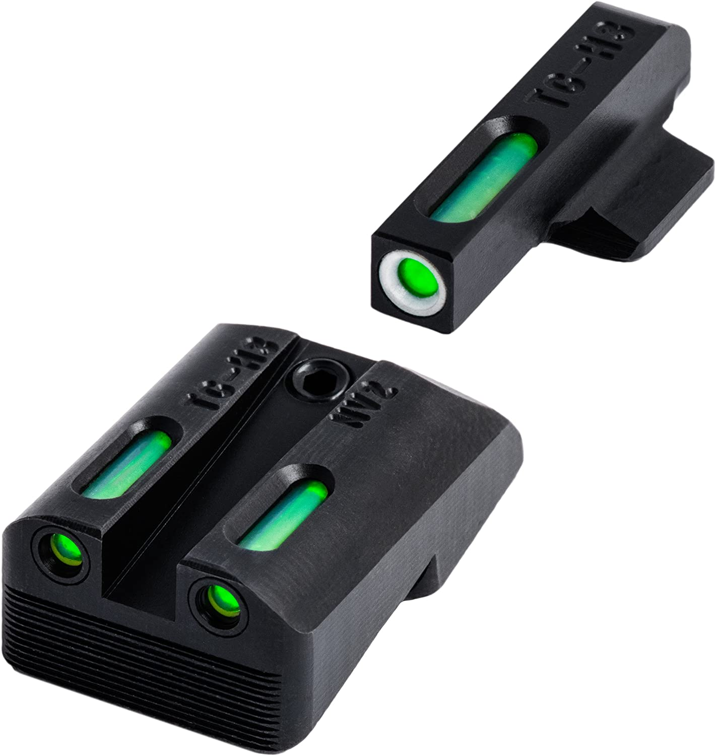TFX Tritium and Fiber-Optic Xtreme Handgun Sights for 1911 Pistols