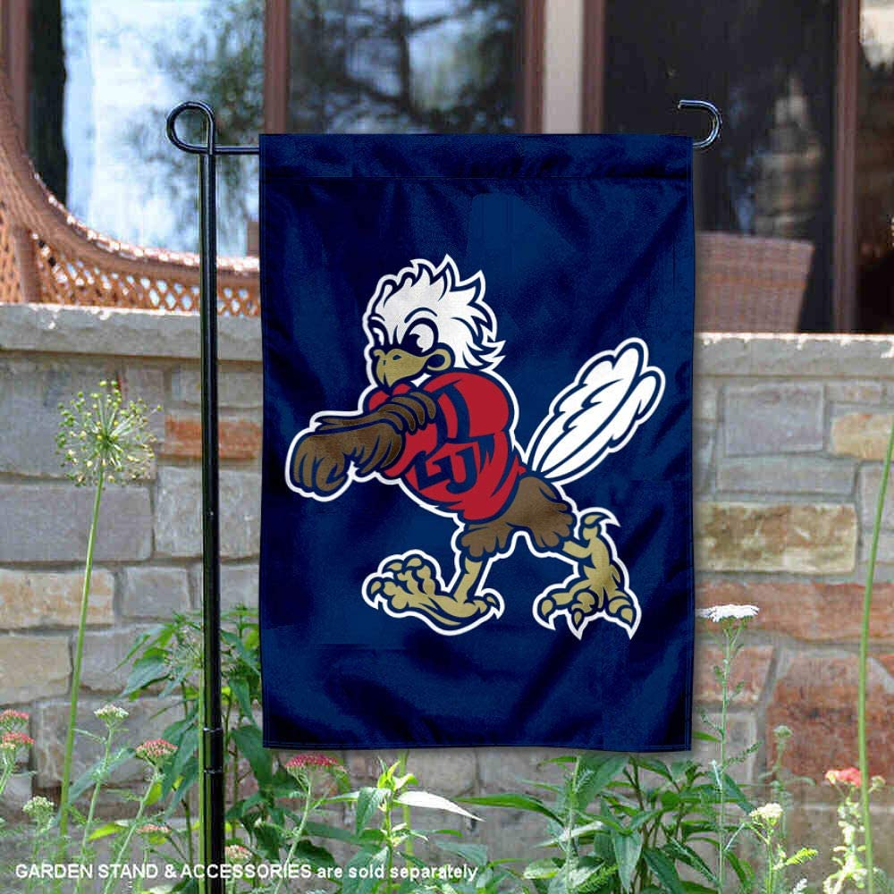 College Flags & Banners Co. Liberty Flames Sparky The Eagle Garden Flag