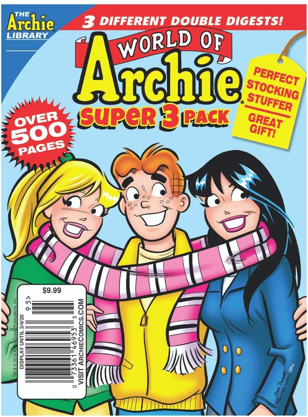 Archie Comics Digest Value Packs (Archie Winter 2020 3-Pack)