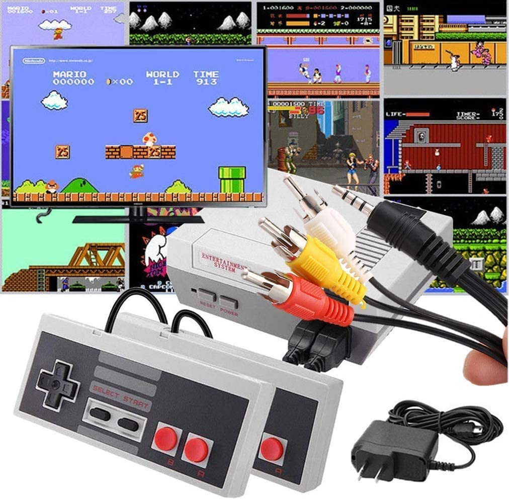 MY0629 Pre Installed Games Include: Super Mario Brothers, King Kong, Legend of Zelda, Final Fantasy and Other Dozens of Content. NES Mini 620 New Video Game Console