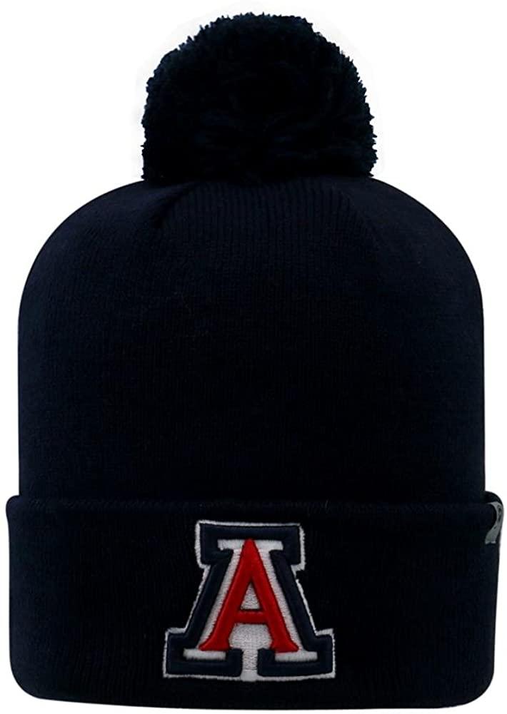 Top of the World Youth Arizona Wildcats Beanie Knit Pom Beanie Hat