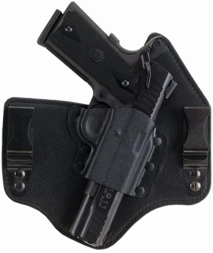 Galco KT636B Kingtuk Inside The Waistband Gun Holster for Ruger LC9, Right, Black