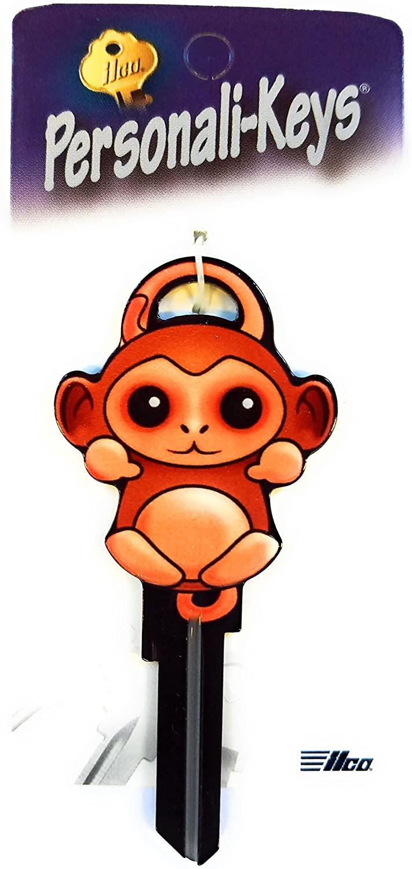 Ilco Monkey Shape Personali-Key Kwikset KW Key Blank