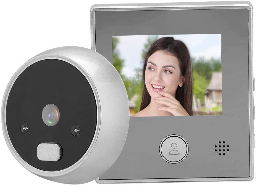 Boquite Door Viewer, 2.8 Inch TFT Screen Display Home Smart Doorbell Security Door Camera for Home Office Apartment