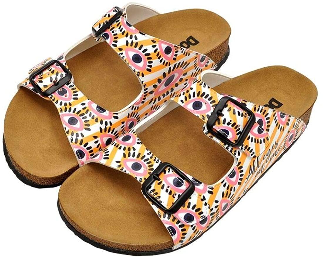 DOGO Stella Vegan Printed Birks Summer Fun Fashion Women Slippers Sandals