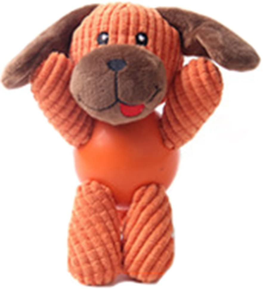 MarePet Dog Animals Shape Playing Toys Squeaky Plush Toy Funny Sounds Doll Training Toy Chew Toy