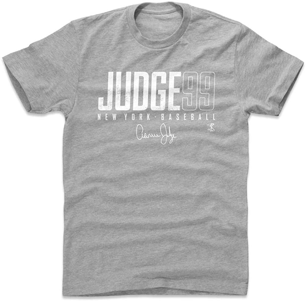 500 LEVEL Aaron Judge Shirt - New York Baseball Men's Apparel - Aaron Judge New York Y Elite