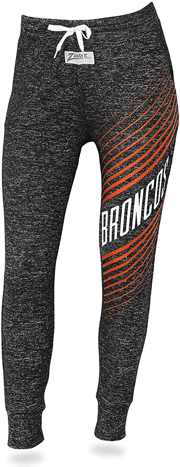 Zubaz NFL Women's Dark Heather Grey Joggers - Team Options