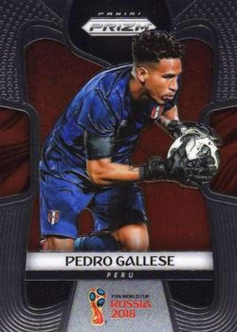 2018 Panini Prizm World Cup Soccer #300 Pedro Gallese Peru Futbol Card