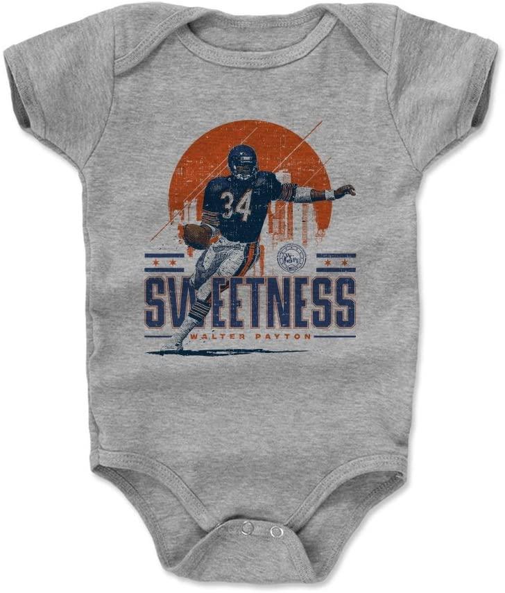 500 LEVEL Walter Payton Chicago Football Baby Clothes & Onesie (3-24 Months) - Walter Payton Chicago Skyline