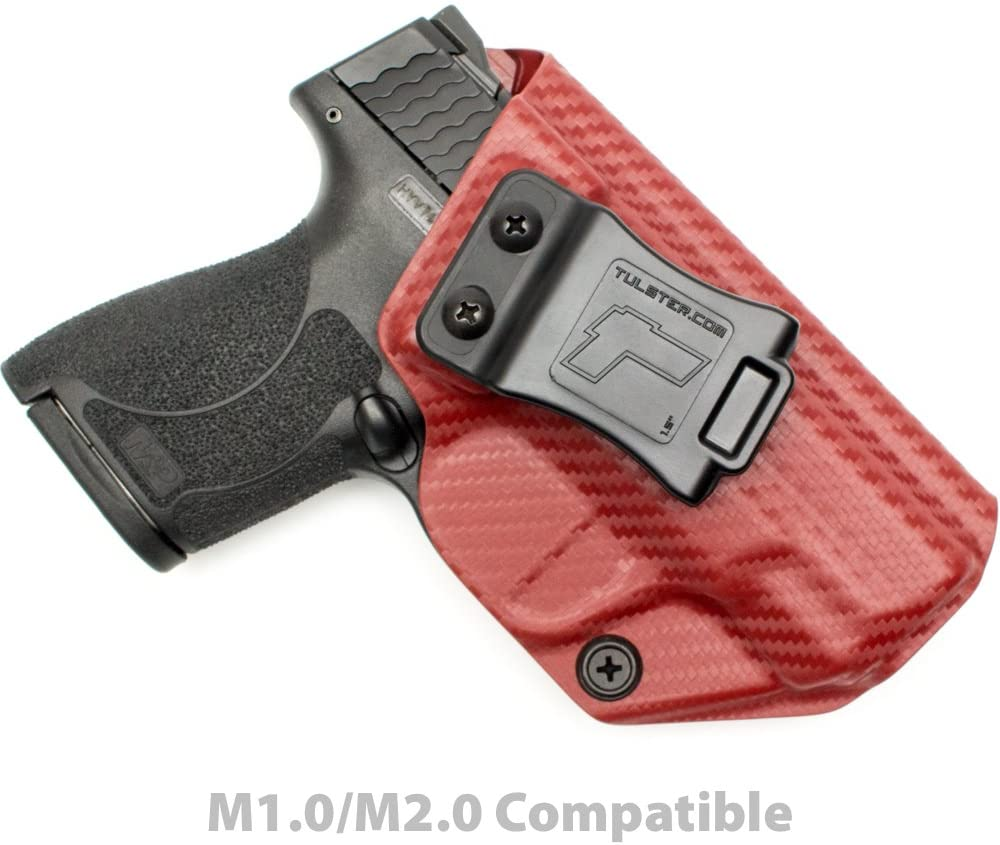 Tulster IWB Profile Holster in Right Hand fits: M&P Shield 9mm/.40