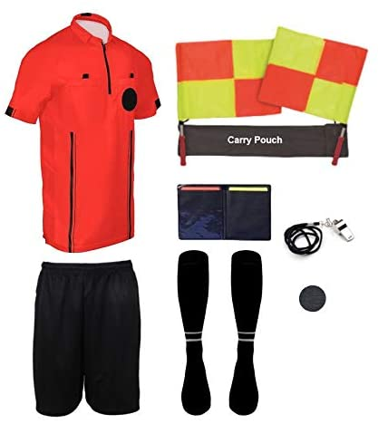 New! Pro Soccer Referee Package (9 Piece)