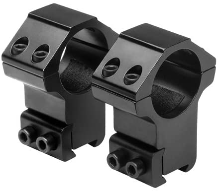 NcStar 1 Ring-3/8 Dovetail-High (RB27)